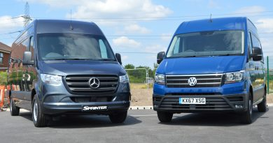Mercedes-Benz Sprinter v Volkswagen Crafter