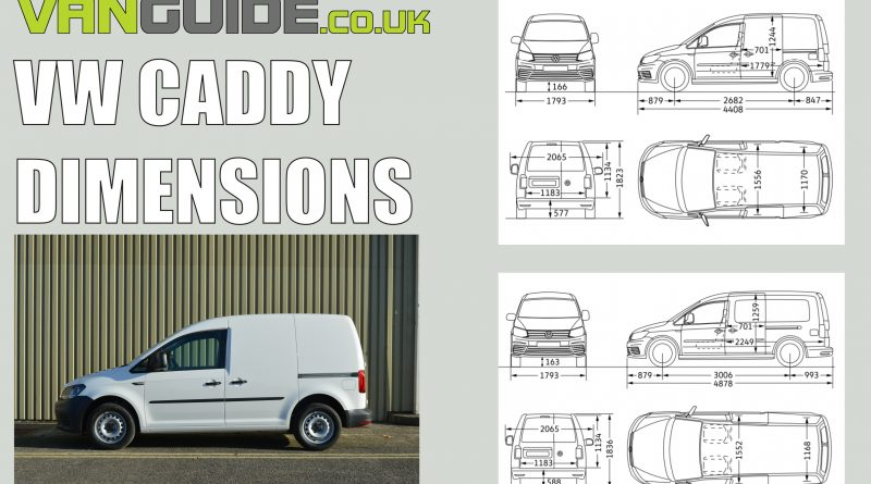 VW Caddy dimensions
