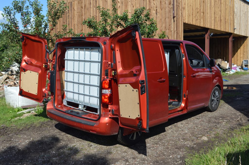 Toyota Proace payload