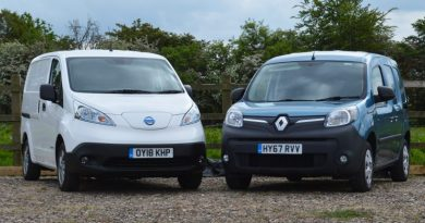 Electric van residual values higher than diesel counterparts
