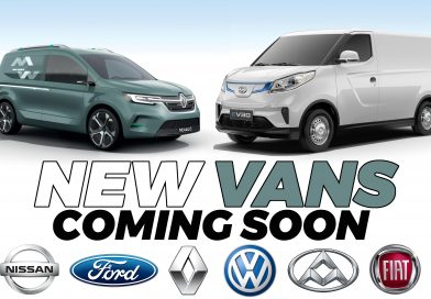 New vans for 2020 and 2021